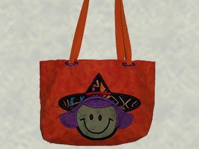 Embroidery machine designs applique halloween treat bags set