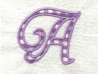 applique alphabet embroidery machine design sets page 1