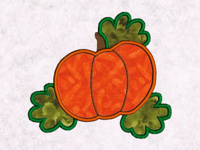 Applique Fall Time Embroidery Machine Designs