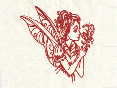 beautiful-redwork-fairies-machine-embroidery-designs