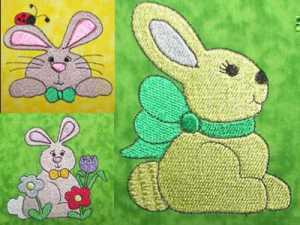 Bunny Tales Embroidery Machine Designs