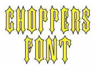 choppers-font-machine-embroidery-designs