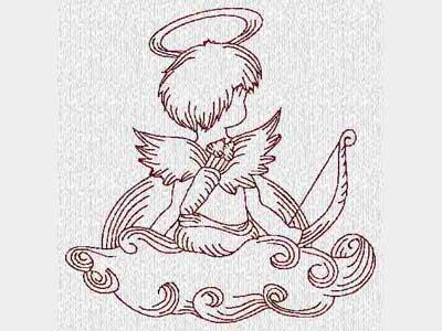 cupid-redwork-machine-embroidery-designs