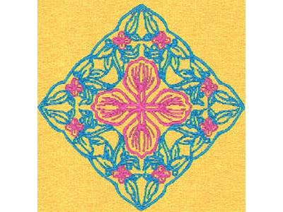 Embroidery Patterns For Quilt Squares : Embroidery Machine Designs - DD Lace Quilt Squares Set