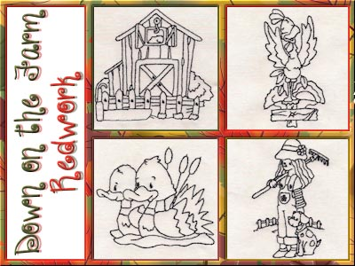 down-on-the-farm-redwork-machine-embroidery-designs
