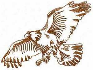 eagle-outlines-machine-embroidery-designs