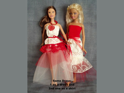 Fashion Doll Clothes Embroidery Machine Designs