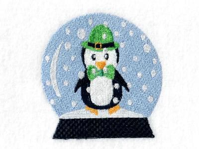 Festive Snow Globes Embroidery Machine Designs