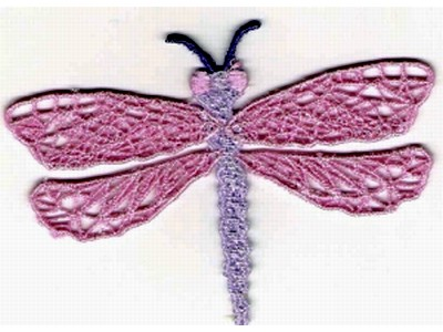 Free Standing Lace Dragonfly Embroidery Machine Design Sets Page 1