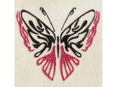 Galatic Butterflies Embroidery Machine Designs