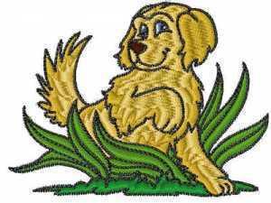 golden-retrievers-machine-embroidery-designs