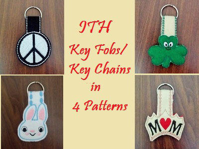 in-the-hoop-key-chains-fobs-machine-embroidery-designs