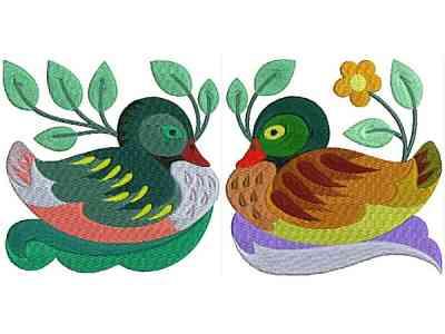 jacobean-ducks-machine-embroidery-designs