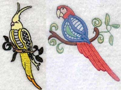 Hummingbird Embroidery Machine Design Sets Page 1