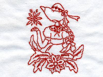 line-art-lovely-sunbonnets-machine-embroidery-designs