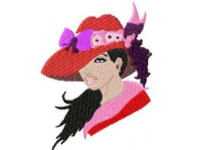 Red Hats 2 Machine Embroidery Designs