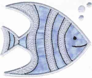 Fish Applique Embroidery Machine Design Sets Page 1