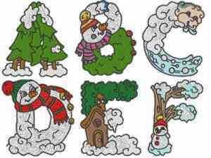 winter-alphabet-machine-embroidery-designs